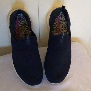 Skechers Navy Slip On Sneakers
